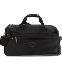 carry-on rolling pvc duffel bag