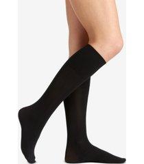 berkshire women's comfy cuff opaque graduated compression trouser sock 5103