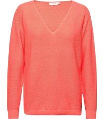 crsillar pullover stickad tröja rosa cream