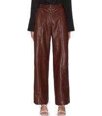'cleo' vegan leather pants