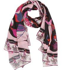 emilio pucci graphic print scarf