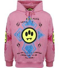 barrow printed hoodie