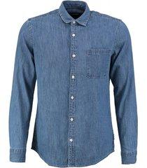 only & sons slim fit denim overhemd
