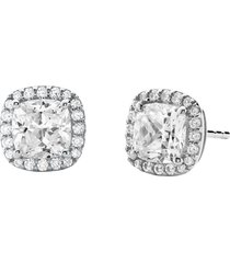 michael kors designer earrings, kors brilliance 925 sterling silver women's earrings