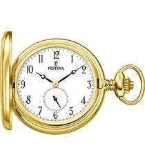 reloj f2029/1 dorado hombre bolsillo festina