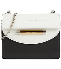 delta leather clutch
