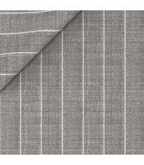 pantaloni da uomo su misura, lanificio ermenegildo zegna, lana lino grigi gessati, primavera estate | lanieri