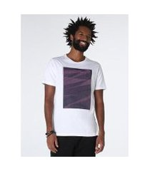 camiseta pontilhado zig-zag relevo (pa) aramis masculina