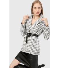 blazer blanco-negro paris district