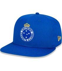 bonã© new era 950 orig. fit snapback cruzeiro azul - azul - masculino - dafiti