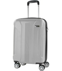 denali s 20 in. carry-on anti-theft expandable spinner suitcase