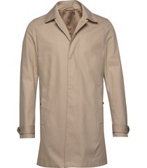 carred trenchcoat lange jas beige tiger of sweden