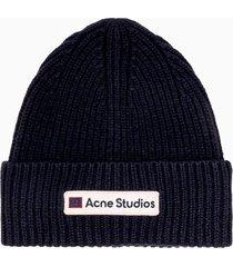 acne studios kansas face hat c40102-bg3000