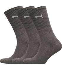 puma sport 3p underwear socks regular socks grå puma