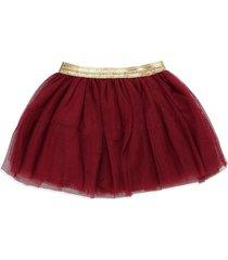 falda vinotinto-dorado name it