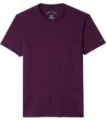 camiseta john john budapest purple malha algodão roxo masculina (roxo medio, gg)