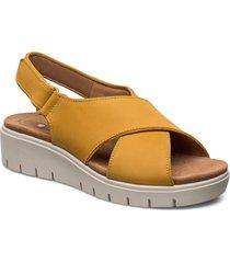 un karely sun shoes summer shoes flat sandals gul clarks