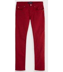 scotch & soda ralston - garment-dyed jeans | regular slim fit
