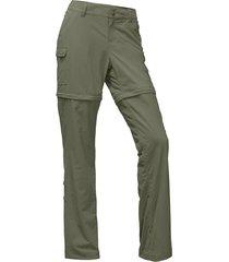pantalon paramount 2.0 convertible verde the north face