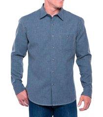 camisa hombre uproar azul oscuro kuhl