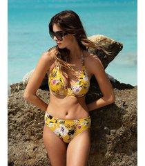 florida keys underwire plunge bikini top