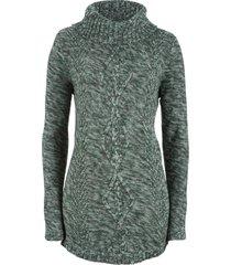 pullover poncho (verde) - bpc bonprix collection