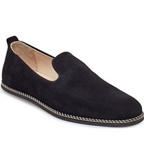 evo loafer suede loafers låga skor svart royal republiq