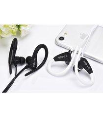 audífonos bluetooth deportivos inalámbricos, nuevos auriculares audifonos bluetooth manos libres  del deporte st-005 auricular estéreo del gancho del oído del receptor de cabeza (blanco)