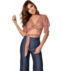 crop top primia zuana rojo