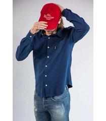 butcher of blue overhemd 2014004