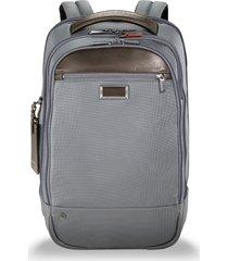 briggs & riley @work medium backpack - grey