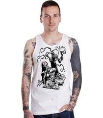 regata lucinoze camisetas evil tree branca.