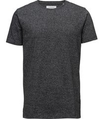 mouliné o-neck tee s/s t-shirts short-sleeved grå lindbergh