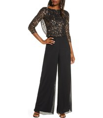 women's pisarro nights beaded cowl back jumpsuit