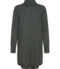 blouse helga blus långärmad grön lindex