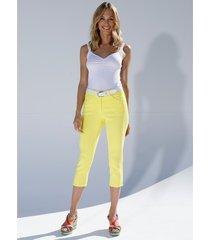 capri-jeans amy vermont geel