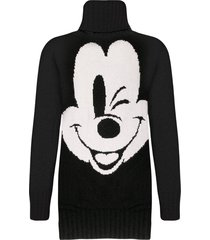 mickey mouse knitted dress