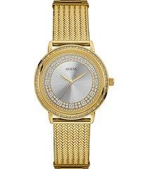 zegarek z kryształkami