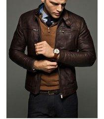 mens slim fit leather jackets, men brown leather jacket, leather jacket mens