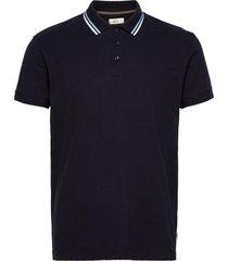 polo shirts t-shirts short-sleeved blå esprit casual
