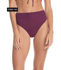 traje de baño pantie morado maaji swimwear vintage grape suzy q