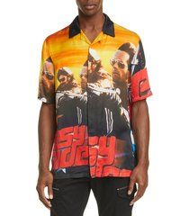 men's marcelo burlon easy rider shirt