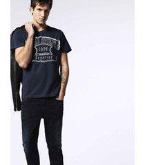 camiseta diesel t-diego-mc azul