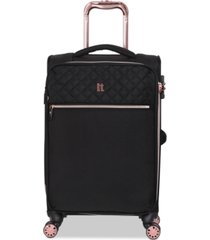 """it luggage divinity 23"""" carry-on spinner suitcase"""