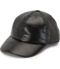 rick owens drkshdw padded baseball cap - black