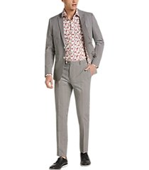paisley & gray skinny fit suit separates jacket black and red gingham
