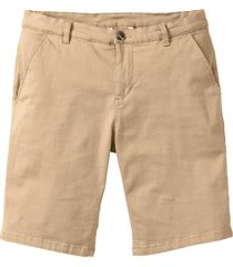 bermuda elasticizzati slim fit (beige) - bpc selection