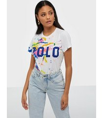 polo ralph lauren polo paint-graphic tee t-shirts