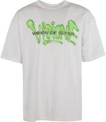 vision of super logo print t-shirt
