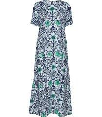 veroinen juhannus dress jurk knielengte blauw marimekko